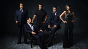 The gang's all here - The first photo of Universal's Dark Universe stars