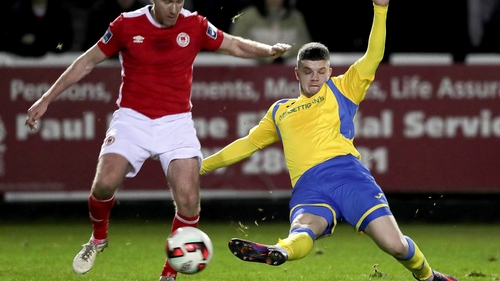 Danny Morrissey scored one and then picked up a late red card as Harps beat Limerick