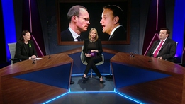 Coveney Vs Varadkar | Claire Byrne Live