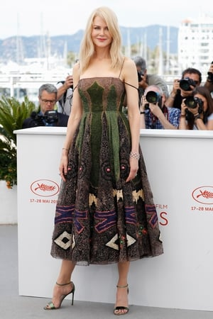 Day Six - Monday May 22: Nicole Kidman was probably one of the best dressed of the day in this embellished Dior Couture dress. Those metallic green shoes are amazing!
