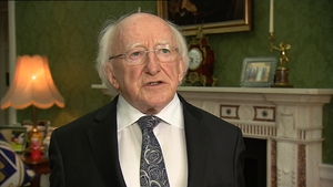 Michael D Higgins was speaking at the University of New South Wales in Sydney