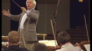 The late, great Elmer Bernstein conducts the RTÉ Concert Orchestra in 1987.