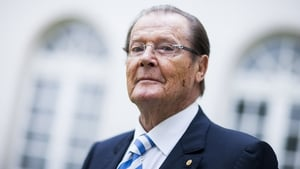 Roger Moore 'collected for UNICEF on Aer Lingus planes'