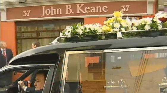 John B Keane Laid To Rest