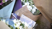 Floral tributes are left for the victims of the Manchester attack