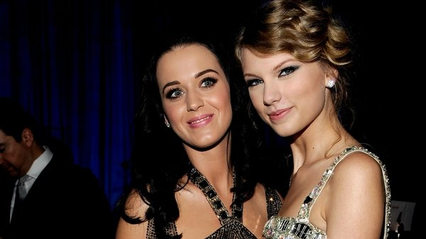 Before the feud: Katy Perry and Taylor Swift