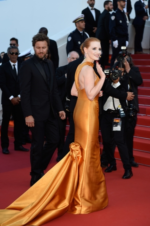 Day Seven - Tuesday May 23: Jessica Chastain was pure perfection in this Armani Prive gown.