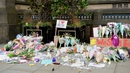 Floral tributes in Manchester