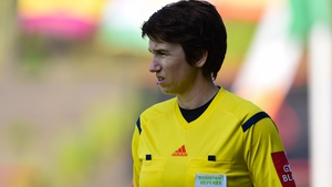 Michelle O'Neill is part of the team of officials for Wednesday night's UEFA Super Cup game between Liverpool and Chelsea
