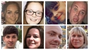 Some of the victims who have been identified so far
