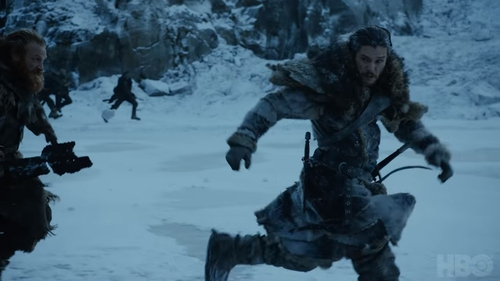 "Jon Snow says ""The Great War has arrived"" in the new trailer for Game of Thrones"