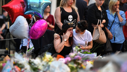 Eight men arrested over Manchester attack