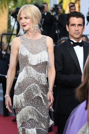 Day Eight - Wednesday May 24: Nicole Kidman rocks a Roaring Twenties Michael Kors dress alongside our handsome  Colin Farrell.