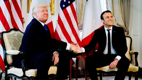 Emmanuel Macron and Donald Trump have agreed to hold off on a potential tariffs war until the end of 2020
