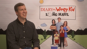 Author Jeff Kinney -
