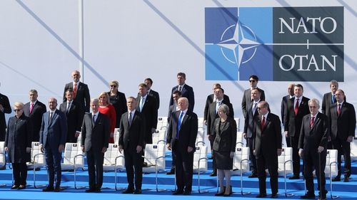 Calling the shots: NATO leaders in 2017 Brussels Summit