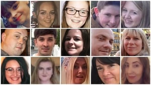Some of the 22 victims of the Manchester Arena attack