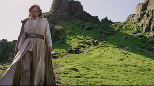 Mark Hamill on location in Ireland for The Last Jedi Screengrab: Vanity Fair