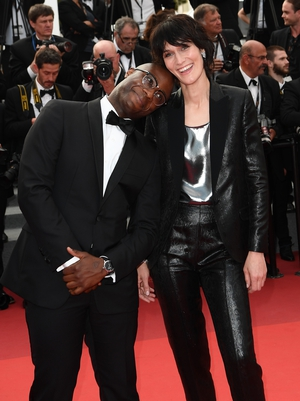 Day Nine - Thursday May 25: 'Moonlight' director Barry Jenkins and French actress Clotilde Hesme made for a stylish pair of the red carpet!