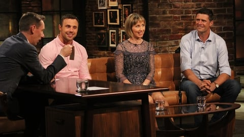 Tommy Bowe, Olive Loughnane and Niall Quinn | The Late Late Show