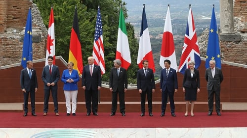 Trump faces G7 squeeze on climate change, trade at Sicily summit