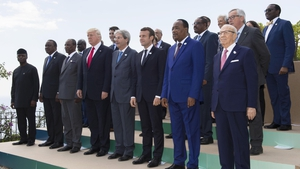 Five African leaders joined the G7 leaders for discussions in Sicily
