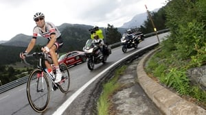 Dumoulin will be hoping to win the Giro on Sunday's final time trial