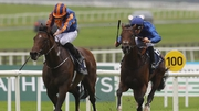 Ryan Moore aboard Classic double champion Churchill