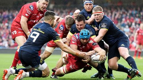 Rassie Erasmus: 'Scarlets were excellent while Munster were average'