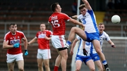 Cork's Paul Kerrigan scores the first goal of the game