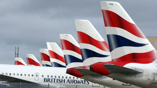 British Airways had received funding of £2 billion for a five-year term loan, which is partially guaranteed by UK Export Finance