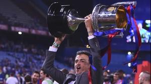 Luis Enrique: 'Nine trophies out of 13 is a pretty good record.'