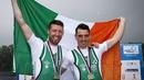 Mark O'Donovan (L) and Shane O'Driscoll