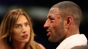 Kell Brook after his defeat to Errol Spence Jr