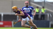 Wexford held a narrow lead at half-time