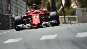 Vettel led home a Ferrari one-two in Monte Carlo