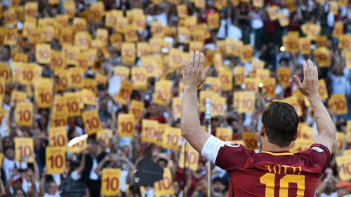 Image result for totti retirement
