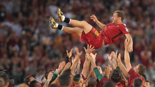 Francesco Totti has joined the board at Roma