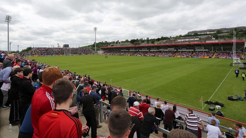 Tyrone ran out easy winners at Celtic Park against Derry
