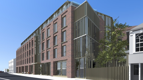The new Clayton Hotel Charlemont St in Dublin 2 is currently under construction
