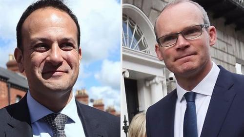 Leo Varadkar and Simon Coveney are contesting the leadership