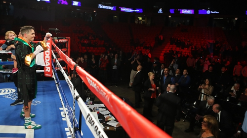 Michael Conlan takes the plaudits after his win over Alfredo Chanez