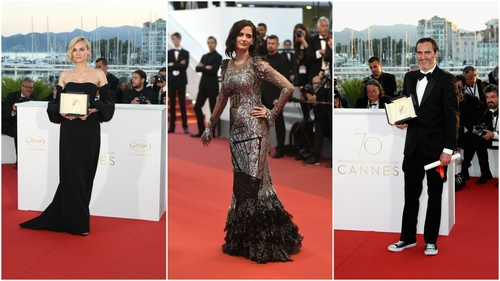 The 2017 Cannes Film Festival ended at the weekend. Celebrities including Diane Kruger, Eva Green, and Joaquin Phoenix ruled the red carpet.