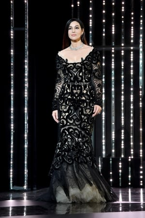 Closing Ceremony Sunday May 28: Mistress of ceremony Monica Bellucci as beautiful as ever in a Dolce & Gabbana gown to close the ceremony.