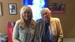 Seamus Mallon on Sunday with Miriam