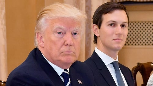 'Fake news', screams Trump over Kushner's Russian links