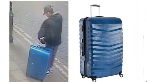 British police released a new picture of Salman Abedi on the day of the Manchester bomb attack