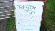 Visitors were evacuated from Hamerton Zoo Park this morning