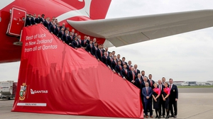 The British & Irish Lions departed London for New Zealand today