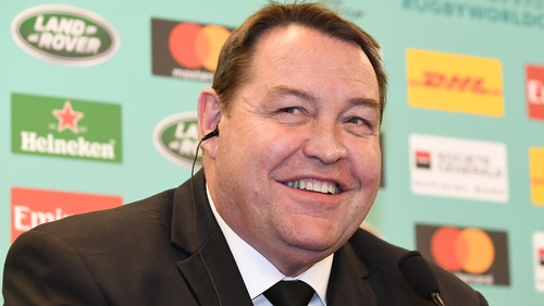 Steve Hansen will be happy with how his side's preparations to face the Lions are going